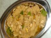 Rava Sheera Or Sooji Halwa - Semolina Pudding
