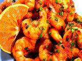 Shrimp With Chili Orange Glaze