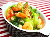 Shrimp And Bok Choy Deopbap (청경채 덮밥)