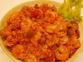 Shrimp  Chicken  And Sausage Jambalaya