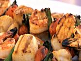 How To Make Shrimp And Scallop Kabobs