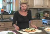 Shrimp Linguine And Vegetable Tart