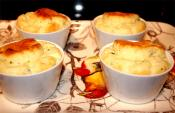 Coquilles Of Shrimp Mornay