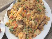 Shrimp N Scallop Fried Rice (on The Grill) 
