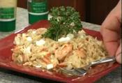 Shrimp With Orzo 