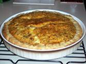 Shrimp Quiche With Rice Crust