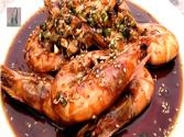 Shrimp (salad) : Grilled Shirmp W/bulgogi Sauce &amp; Lemony Gochujang Dressing : Chopchop