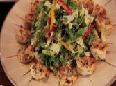 Asian Grilled Shrimp Salad With Sesame Ginger Vinaigrette