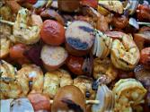 Grilled Marinated Shrimp Skewers