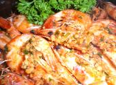 Sauted Shrimps In Butter And Garlic