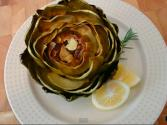 Simple Roasted Artichokes