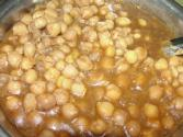 Simple Safed Chole