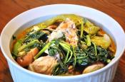 Filipino Sinigang Na Buto-buto With Gabi