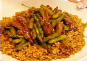 Sauted Sirloin Steak And Asparagus Stir-fry