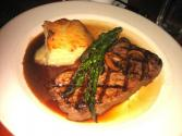 Sirloin Steak With Red Wine