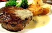 Sirloin Steak With Roquefort