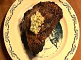 Sirloin Steak With Sage And Parmesan Butter