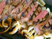 Sterling Silver Top Sirloin Sizzling Steak
