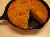 Mexican Style Skillet Cornbread