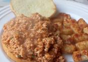 Sloppy Joe's With Turkey