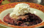 Slow Cooked Berry Cobbler