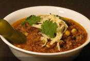 Savory Slow Cooked Beef Chili 