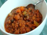 Slow Cooker Vegetarian Lentil Stew