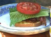Smoked Bacon Blt Sandwich