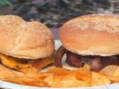 Smoked Bacon Cheese Burgers By The Bbq Pit Boys