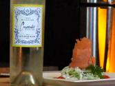 Smoked Salmon And Apple-fennel Coleslaw Paired With Cupcake Sauvignon Blanc