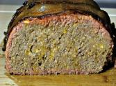 Smokingpit.com - Bacon Cheeseburger Meatloaf Slow Cooked On A Yoder Ys640 Pellet Grill