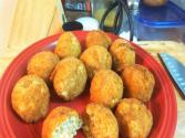 Homemade Crawfish Boudin Balls