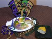 "New Orleans Mardi Gras ""king Cake"""