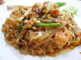 Soft Noodles With Crab Meat Sauce