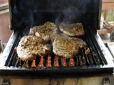 Solaire Anywhere Portable Infrared Grilled Pork Chops &amp; Corn On The Cob