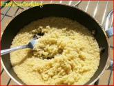 Solar Cooked Couscous