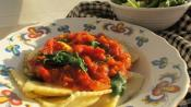 Ravioli With Spinach And Sun-dried Tomatoes