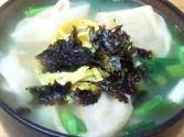 Korean Food: Fried Dumplings &amp; Dumpling Soup (  &amp; )