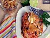 Southwestern Chicken And Rice Bake