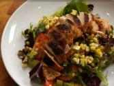 Southwestern Chicken Salad With A Cool Lime Balsamic Vinaigrette