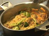 Stir Fried Pork With Noodles