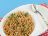 Soya Upma (iron Rich And Pregnancy Recipe) By Tarla Dalal