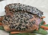 Sesame Halibut With Soy
