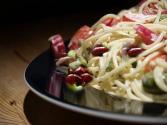 Spaghetti-bean Salad