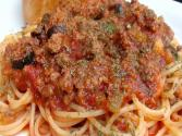 Pantry Cooking: Old Fashioned Spaghetti With Meat Sauce