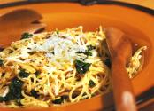 Spaghetti With Sausage And Kale