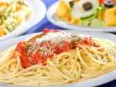 Spaghettini With Whole Tomato Sauce