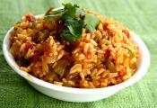 Simple Spanish Rice With Tomatoes