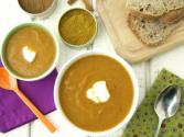 Healthy Spiced Carrot Cauliflower Soup