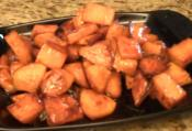 Spiced Honey Roasted Sweet Potatoes